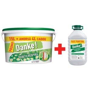 Vopsea lavabila alba pentru Danke 15L
