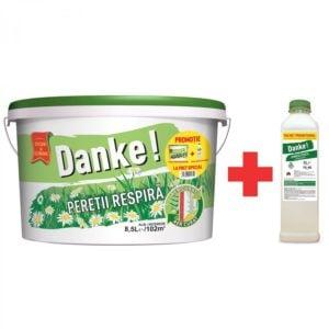 Vopsea lavabila alba pentru Danke 8 . 5L