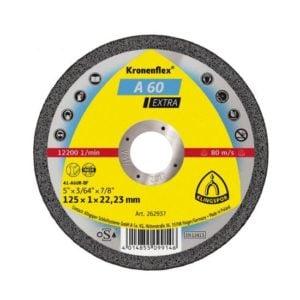 disc de debitare A 60 EXtRA 125x1x22 . 23 mm inox 530549