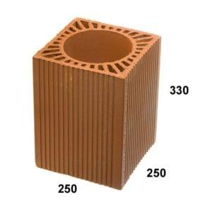 Caramida Cos 180 mm (250x250x330) Kebe