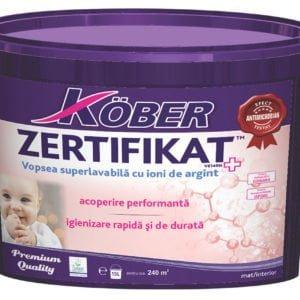 Zertifikat Plus 8 . 5L Kober