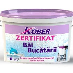 Vopsea Zertifikat bai&bucatarii 4L Kober