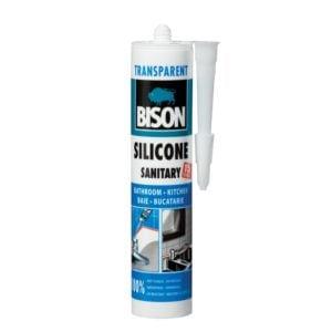 silicon sanitar transparent 280ml 423006 bison