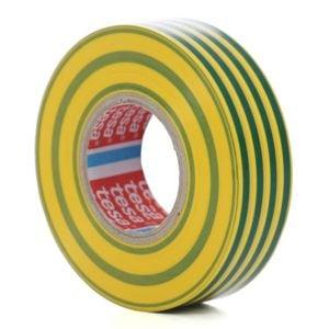 banda electroizolatoare galben/verde 10mx15mm 53947 0004  tesa