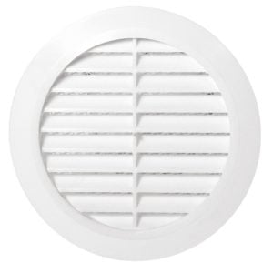 grila aerisire rotunda cu plasa 125 karro 770109