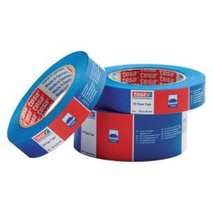 Banda tesa krepp 50mx30 mm albastru 4435 00005
