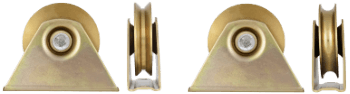 Roata cu Suport Exterior cu Rulment 80mm 150kg 674196