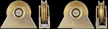 Roata cu Suport Exterior cu Rulment 90mm 150kg 674197