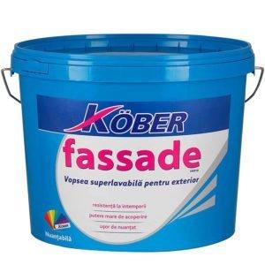 Vopsea lavabila de FASSADE 15L Kober