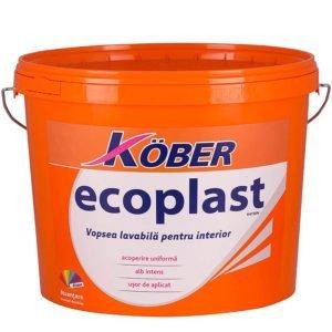 Vopsea lavabila pt Ecoplast 8 . 5L Kober