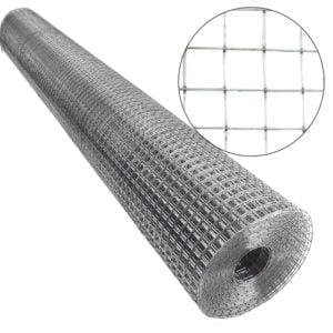 plasa sarma zn sudata 1x10m 13x13x0.9mm 240317